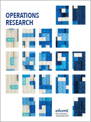 Operations Research | PubsOnLine